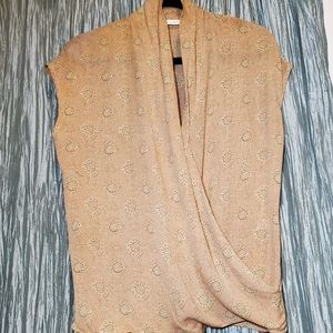 ANNE KLEIN II Vintage Wrap Blouse